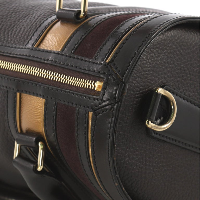 Burberry Alchester Bowling Bag Leather Medium For Sale 1