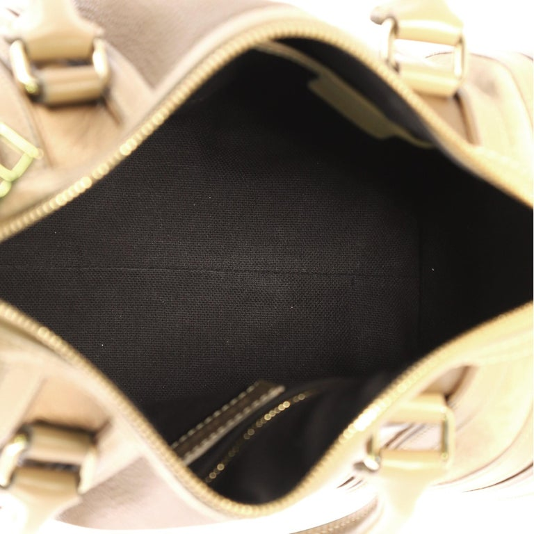 Burberry Alchester Bowling Bag Leather Medium For Sale 3