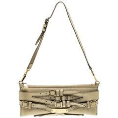Burberry Beige Leather Pochette Shoulder Bag