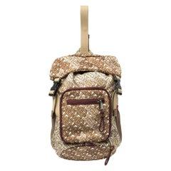 Burberry Beige TB Monogram Nylon Leo Belt Pack Bag