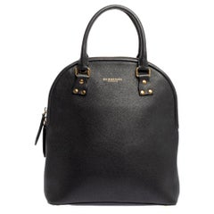 Burberry Black Leather Bloomsbury Satchel