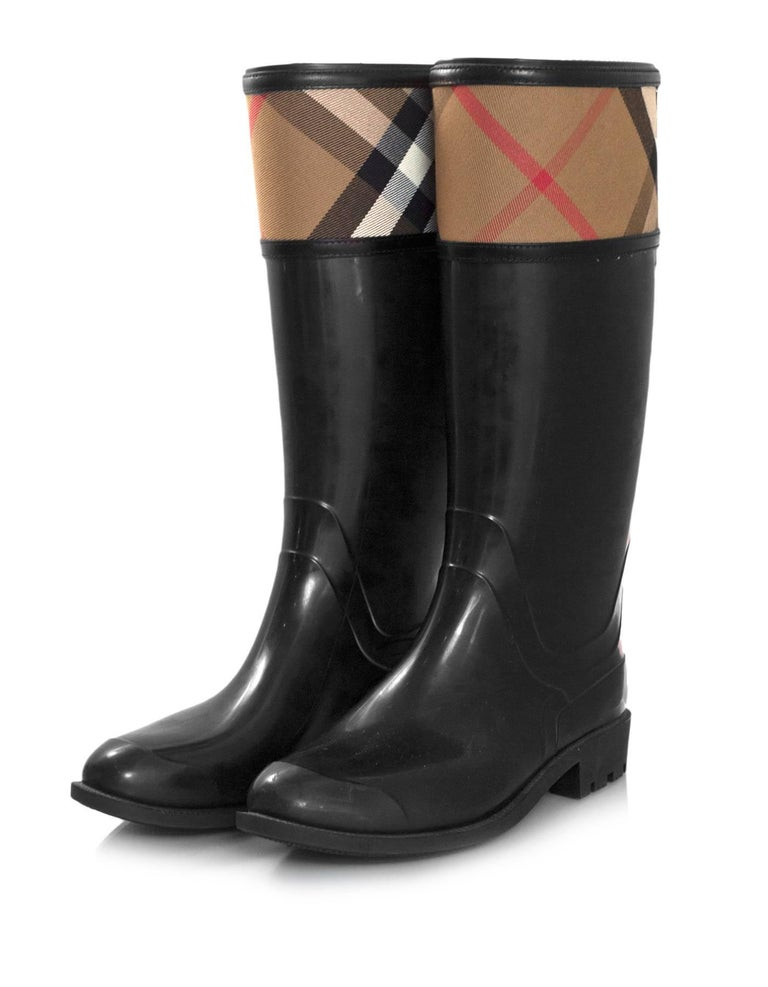 Burberry Low Rain Boots