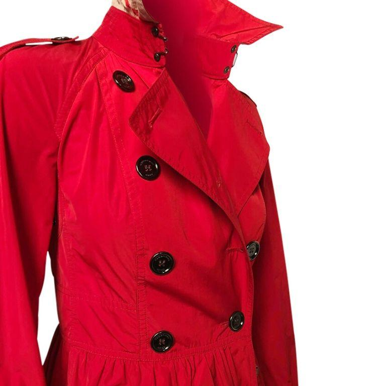Women's Burberry Brit Mini Trench For Sale