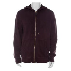 Burberry Brit Purple Cotton Hoodie XXL