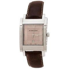 Burberry Bronze Stainless Steel BU1553 Men's Wristwatch 32 mm