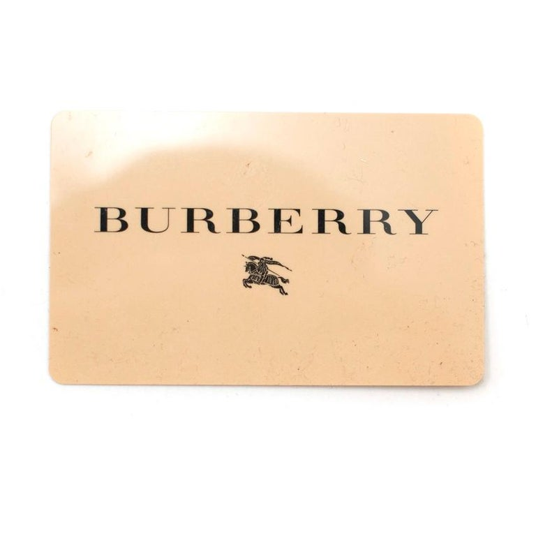 Burberry Brown Suede Bucket Bag  For Sale 5