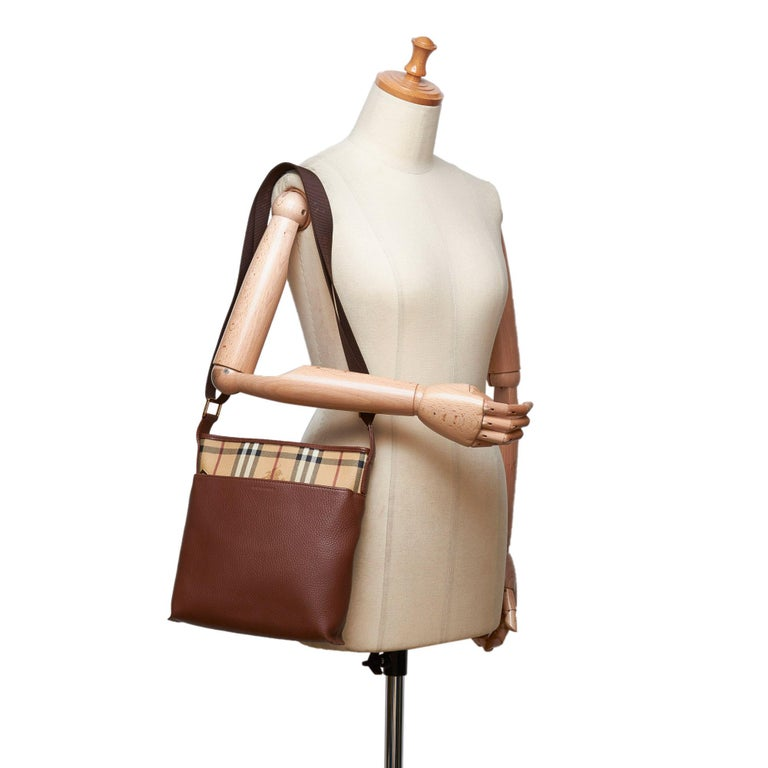 3a8d1621c Burberry Brown with Multi Leather Crossbody Bag United Kingdom w/ Dust Bag  For Sale 5