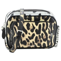 Burberry Camera Bag Printed Leather Small