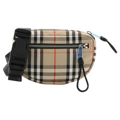 Burberry Cannon Bum Bag Vintage Check Canvas Small