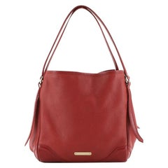 Burberry Canterbury Tote Grainy Leather Small