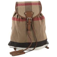 Burberry Chiltern Backpack House Check Canvas Medium