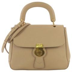 Burberry DK88 Top Handle Bag Leather Medium