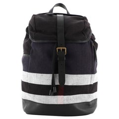 Burberry Drifton Backpack House Check Canvas