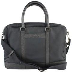 Burberry Fairbank Laptop Business 2way 2burz0123 Black Nylon Messenger Bag