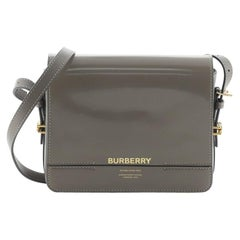 Burberry Grace Flap Bag Leather Small