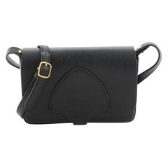 Burberry  Hampshire Shoulder Bag Leather Small