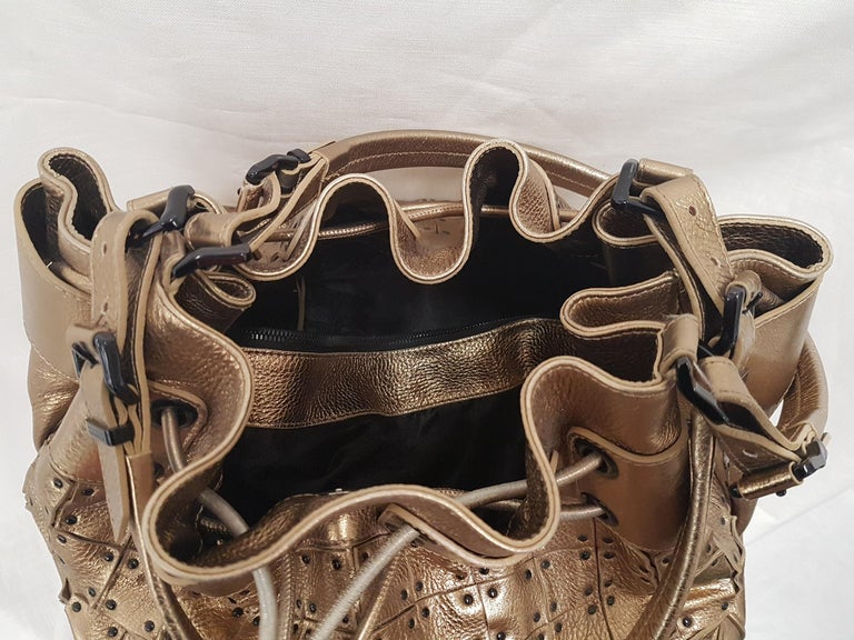 Burberry Leather Bag For Sale 1
