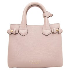 Burberry Light Mauve & Multicolor Baby Banner Tote