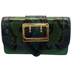 Burberry Limited Edition Snakeskin Bag with Two Straps NWT