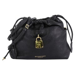 Burberry Little Crush Lock Crossbody Leather