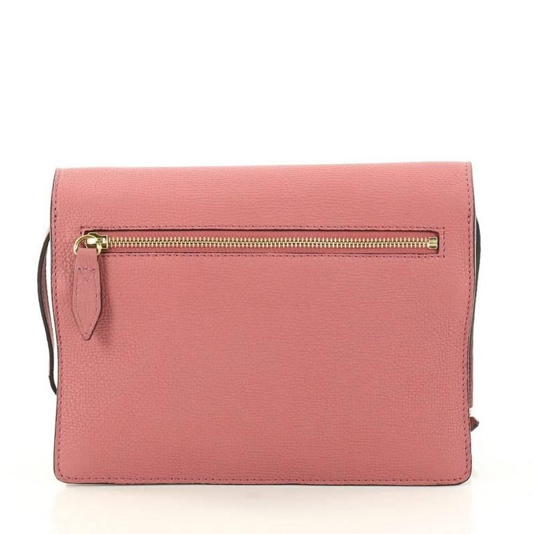 92ec36631d8 Women s Burberry Macken Crossbody Bag Leather and House Check Canvas Small  For Sale