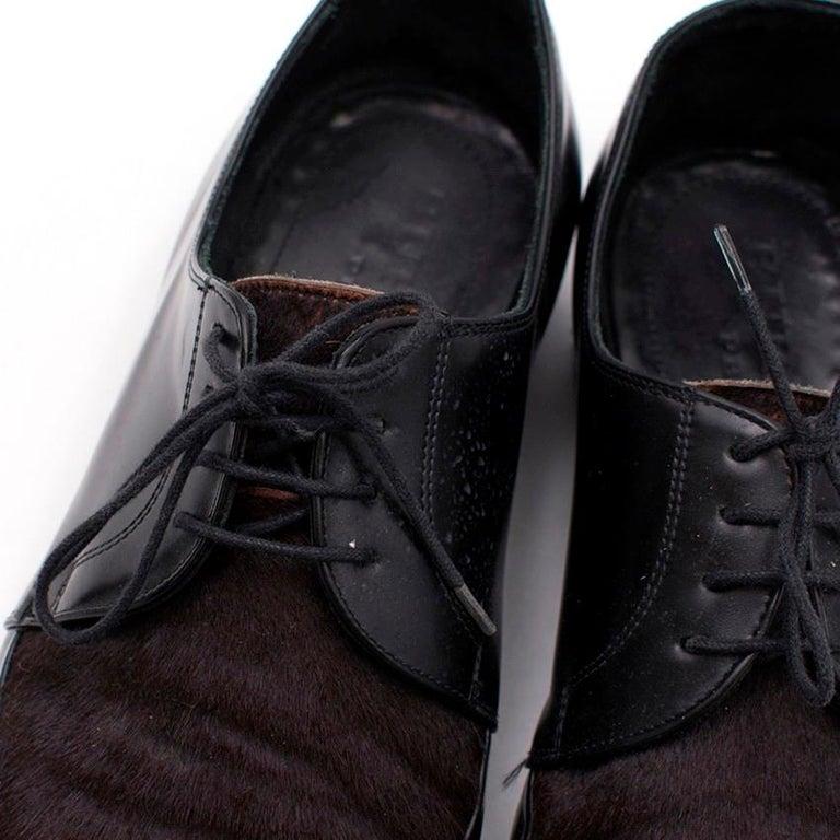 Burberry Men's Calf-Hair Shoes - Size EU 44 For Sale 1