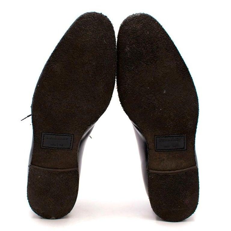 Burberry Men's Calf-Hair Shoes - Size EU 44 For Sale 3