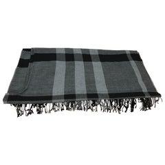 Burberry Merino Wool Shawl/Cape 140cm x 135cm
