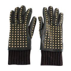 Burberry Prorsum Men Studded Gloves 8