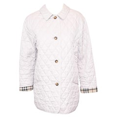Burberry Rose Beige Quilted Casual Jacket