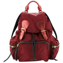 Burberry Rucksack Backpack Nylon with Leather Medium