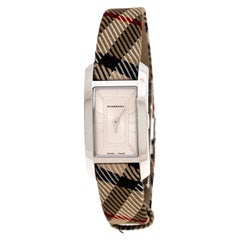 Burberry Silver Stainless Steel Classic BU1051 Women's Wristwatch 20 mm