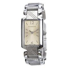 Burberry Silver Stainless Steel Signature BU4212 Women's Wristwatch 18MM