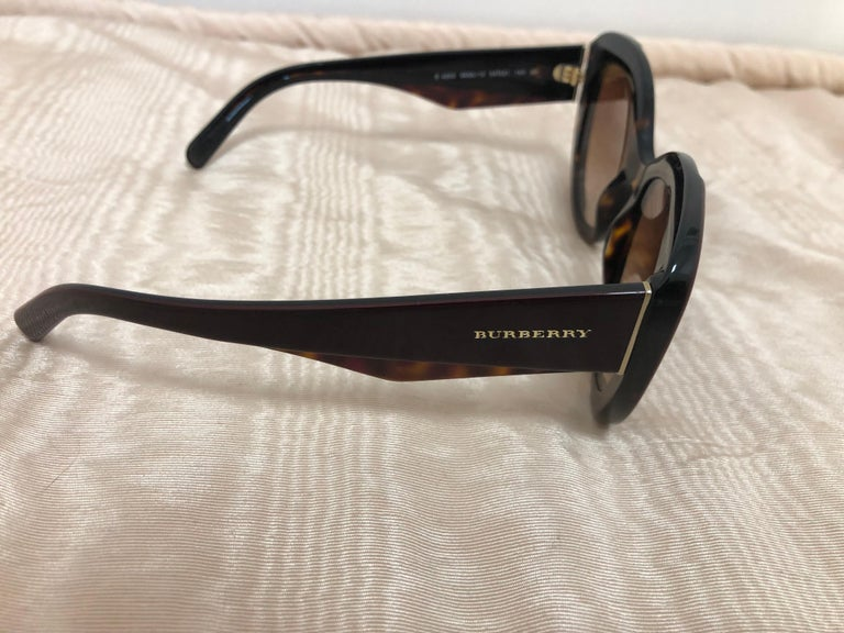 Black Burberry Sunglasses Model #B4253 3655/13 Unisex For Sale