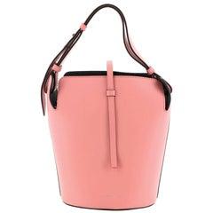 Burberry Supple Bucket Bag Leather Medium