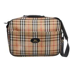 BURBERRY Tartan Weekend Bag