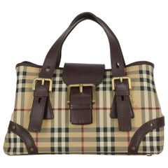 Burberry Woman Handbag  Brown Leather