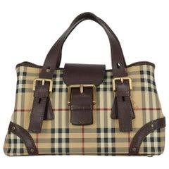 Burberry Woman Handbag  Brown Leather