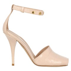 Burberry Woman Sandals Pink Leather IT 36.5