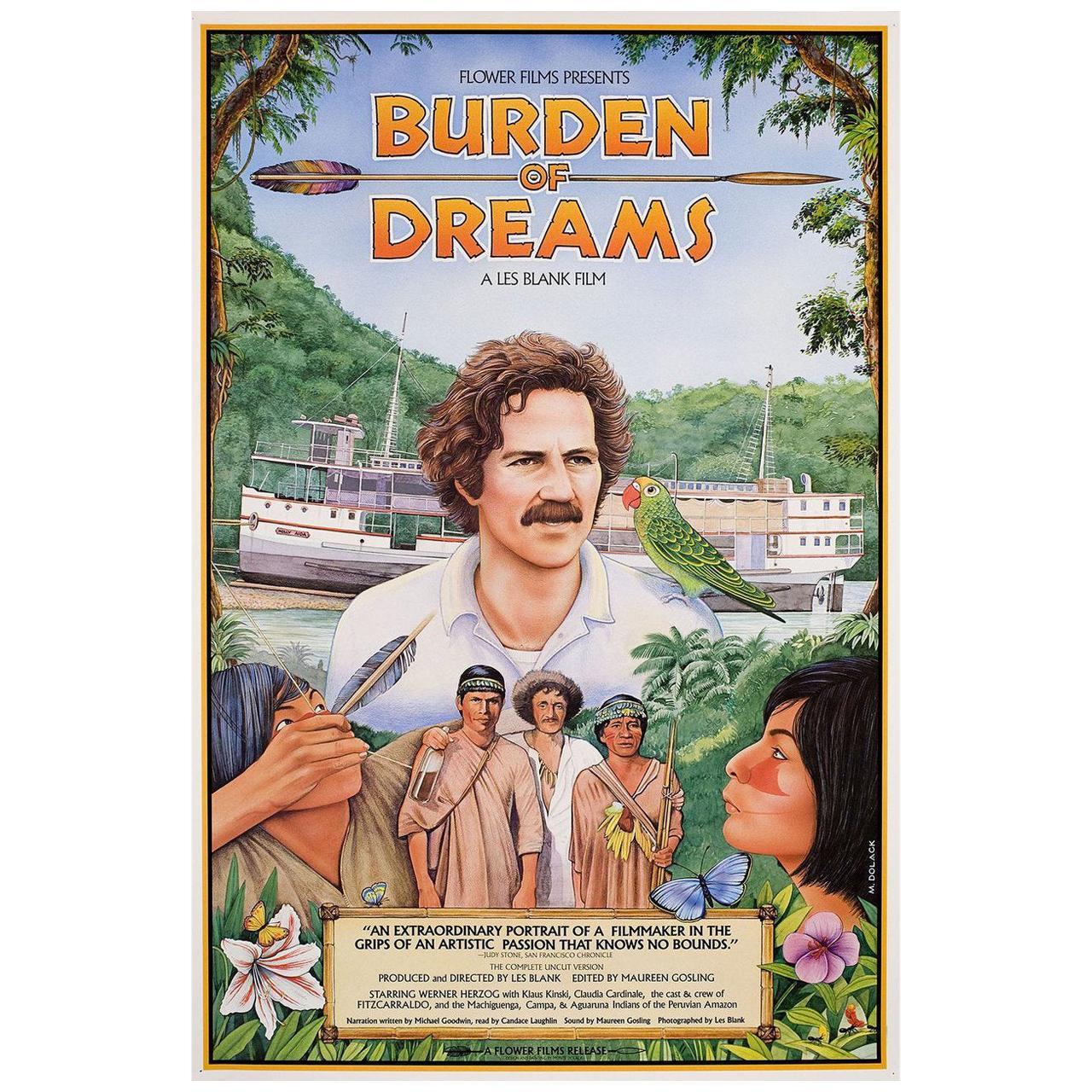 'Burden of Dreams' 1982 U.S. Film Poster