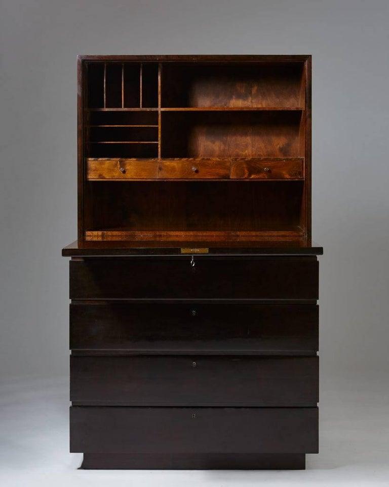 "Swedish Bureau ""Typenko"" Designed by Axel Einar Hjorth for Nordiska Kompaniet, Sweden For Sale"