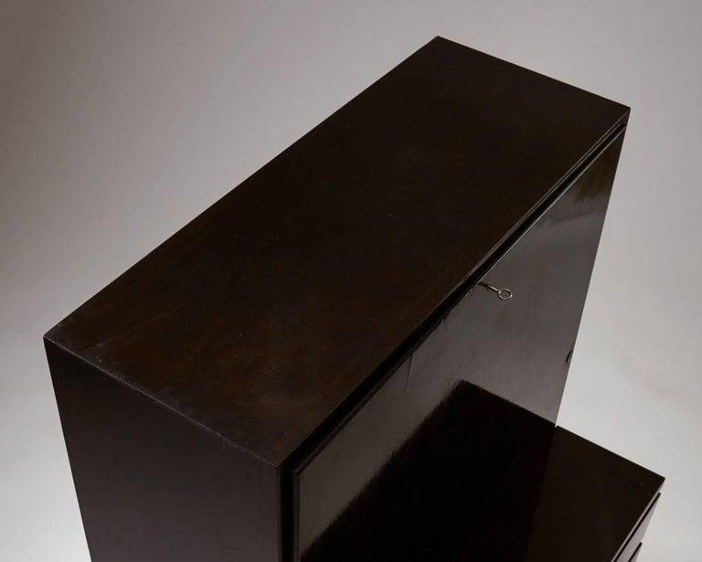 """Birch Bureau """"Typenko"""" Designed by Axel Einar Hjorth for Nordiska Kompaniet, Sweden For Sale"""