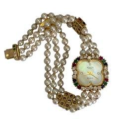 Burgan Genève Diamond & Pearl Watch