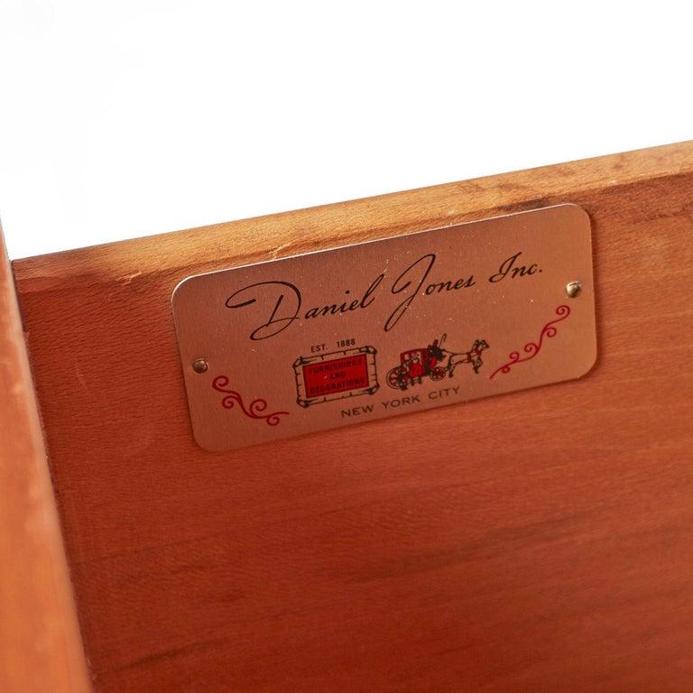 Burl Inlay Walnut Dresser Credenza by Daniel Jones Inc. For Sale 2