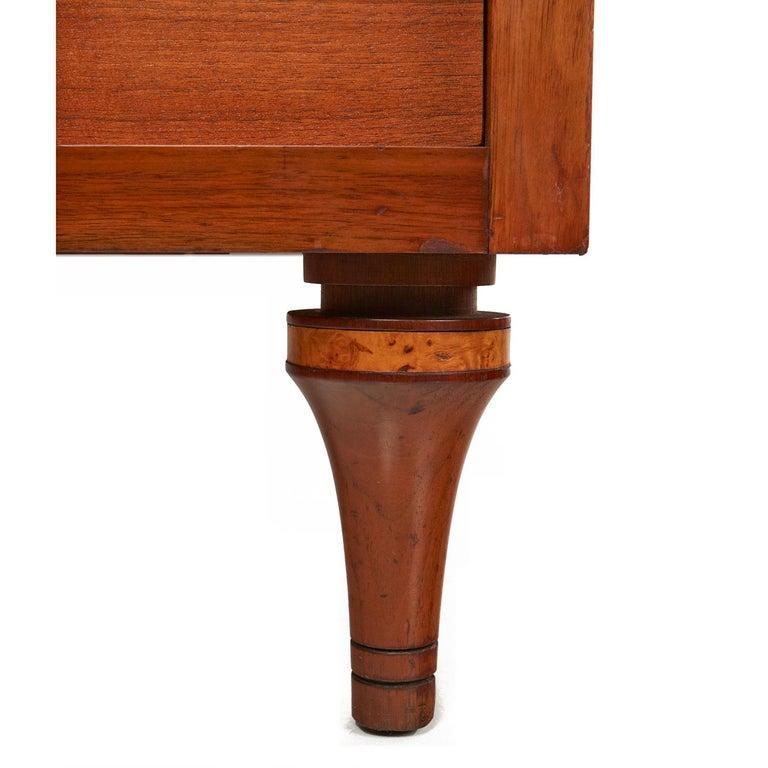 Burl Inlay Walnut Dresser Credenza by Daniel Jones Inc. For Sale 3