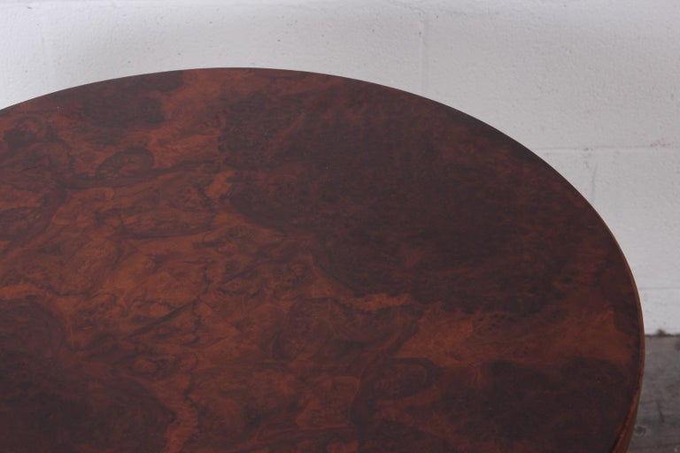 Burl Lamp Table Attributed to Edward Wormley for Dunbar For Sale 3