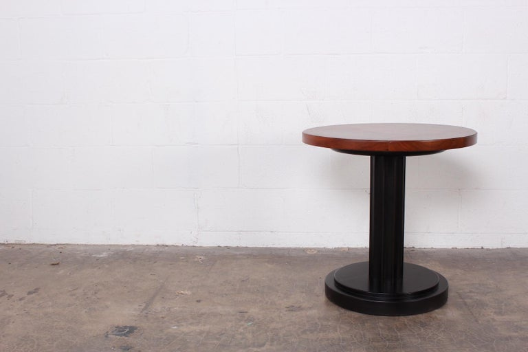Burl Lamp Table Attributed to Edward Wormley for Dunbar For Sale 4