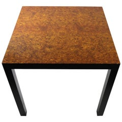 Burl Parsons Table Attributed to Milo Baughman