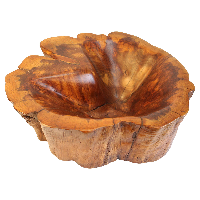 Burl Wood Bowl