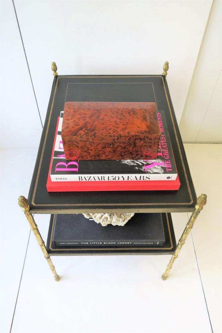 Vintage Burl Wood Box For Sale 5